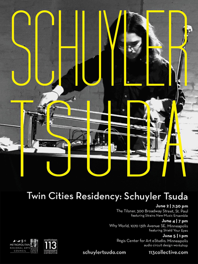 Twin Cities Residency: Schuyler Tsuda